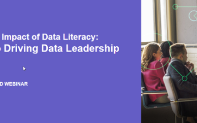 Data leadership begins with data literacy.